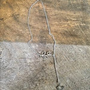 Dove & Olive Branch Necklace